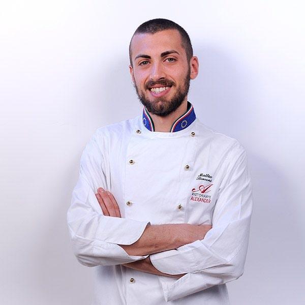 Mattia Borroni / Al Mèni Rimini / chef