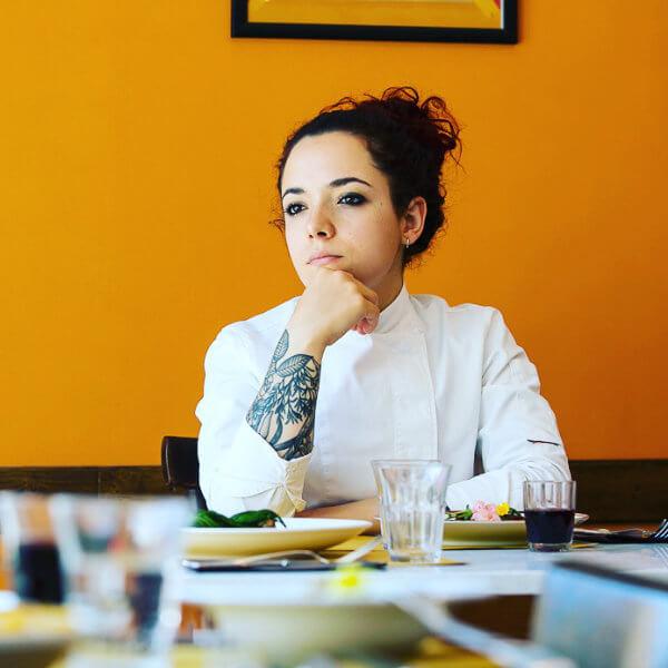 Sarah Cicolini / Al Mèni Rimini / chef