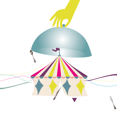 Al Mèni | Rimini | circo 8 e 1/2 / logo 2020